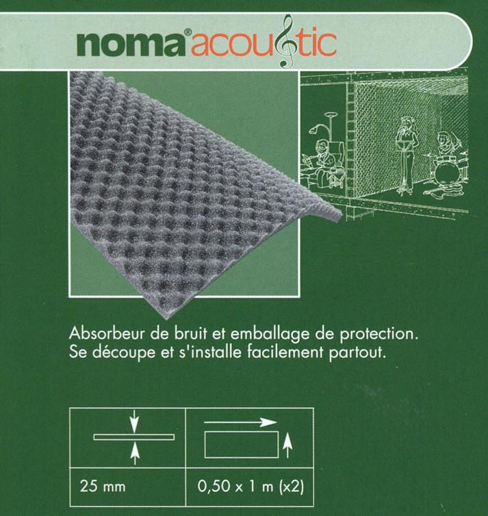 Isolation acoustique isolation divers - Absorbeur de bruit ...