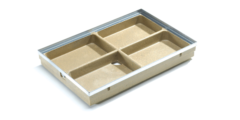 Cuvette Cleanbox polyester 100x50cm