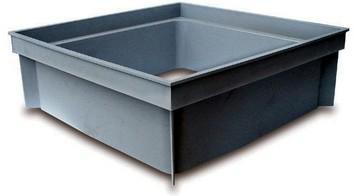 Rehausse chambre visite 200x200x100 gris rubrique egout - Rehausse chambre de visite beton ...