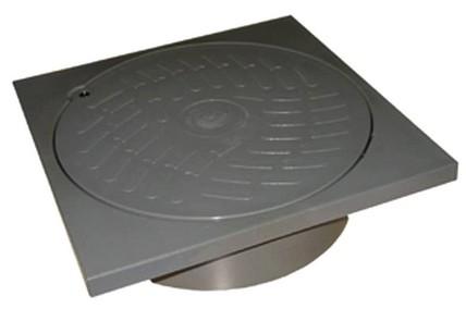 tampon avec cadre gris 250mm rubrique egout sous sol. Black Bedroom Furniture Sets. Home Design Ideas