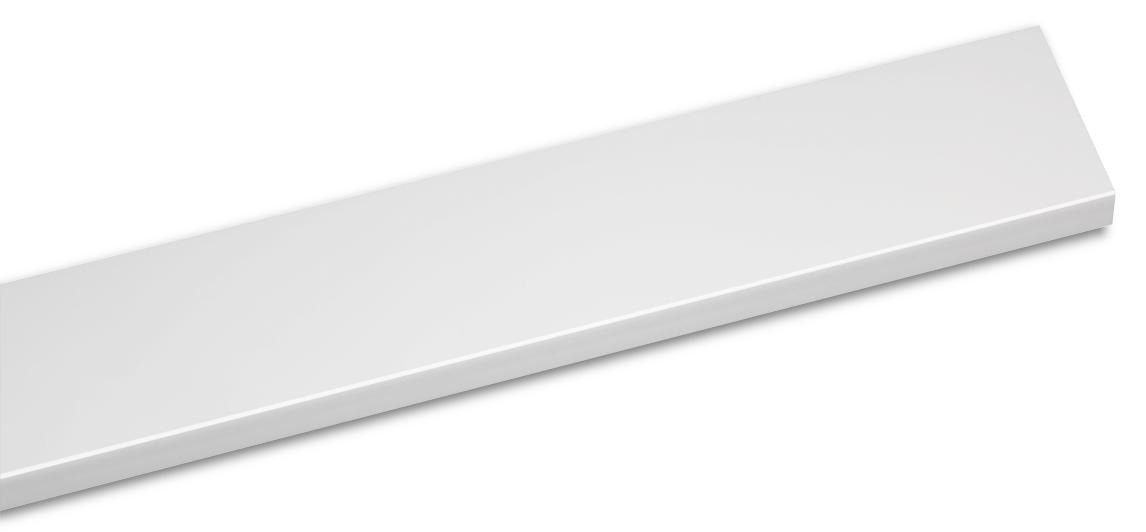 Ap. Fenêtre LD36 200mm Blanc Mat 3m
