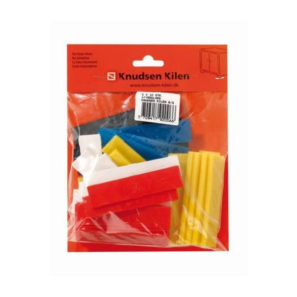 Cale d'écartement PVC Mixed pack 50pcs