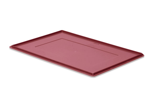 Couvercle bac ATHENA 600x400 rouge