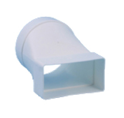 Transition PVC blanc 220x90mm - Ø150mm