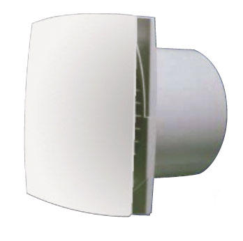 Extracteur DISCRESSIO 100mm mur/plafond