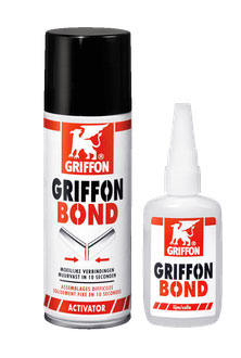 Griffon Bond - colle +activ. 50gr+ 200ml