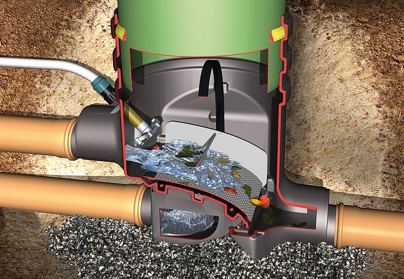 filtre eau de pluie lot 4 filtres a gouttiere recuperateur eau de pluie rainus filtre d 39 eau. Black Bedroom Furniture Sets. Home Design Ideas