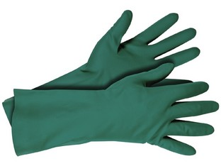 Gants chemical en nitrile 10