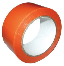 Adhésif Soft PVC stand orange 50mm - 33m