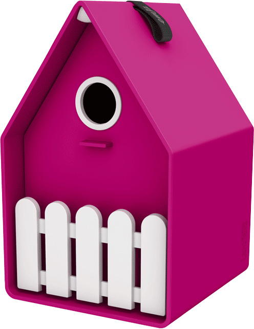 LANDHAUS Bird house - rose