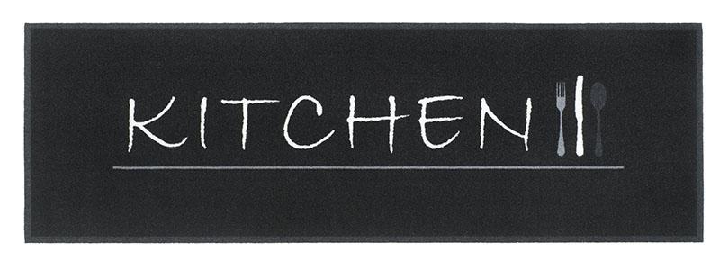 Paillasson Couloir 300gr Kitchen Noir Rubrique Divers