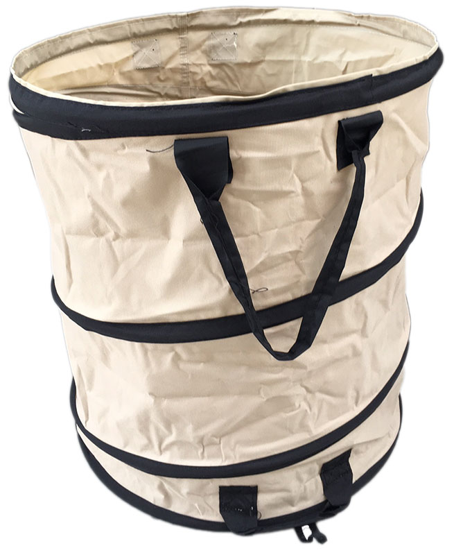 Sac jardin Pop-up 95L PE 200gr/m² brun