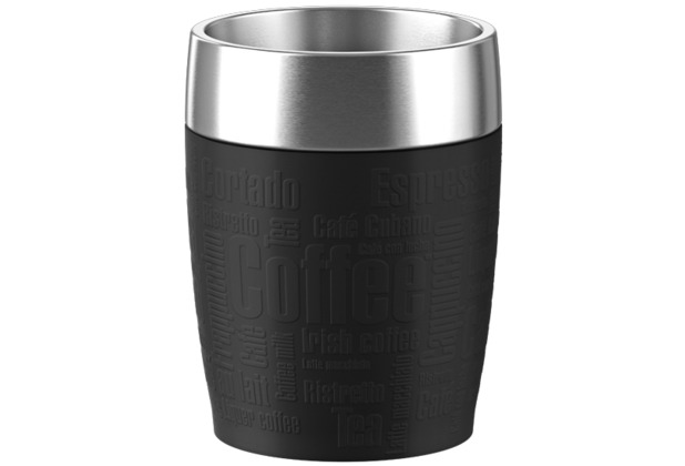 TRAVEL CUP isother 0,20L inox/noir