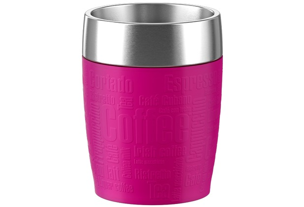 TRAVEL CUP isother 0,20L inox/rose