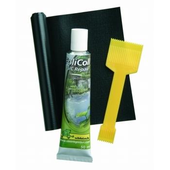 Bache etang pvc kit de reparation rubrique film b che for Bache plastique bassin
