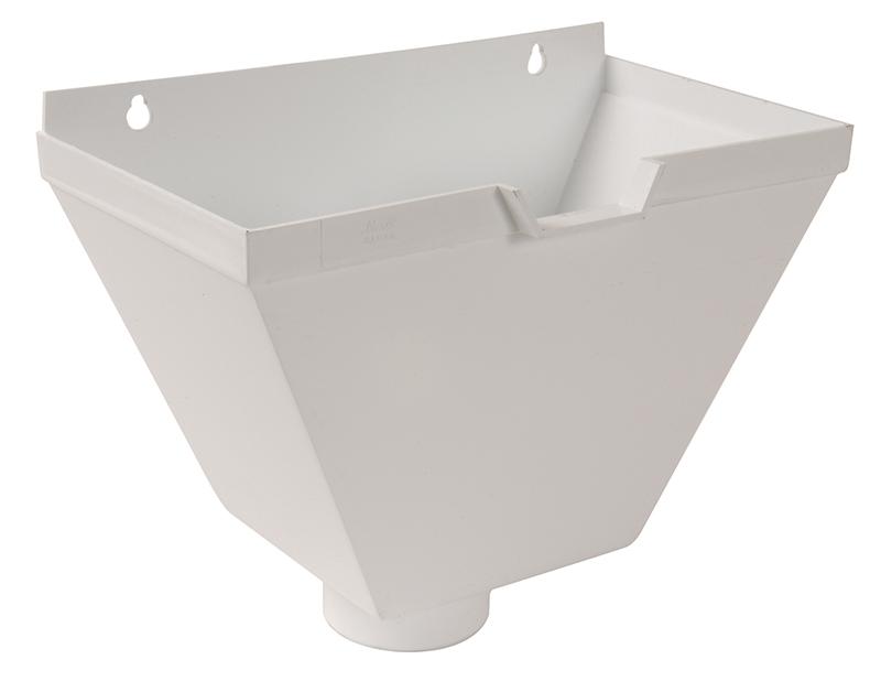boite a eau 80mm blanc rubrique pluvial goutti re. Black Bedroom Furniture Sets. Home Design Ideas