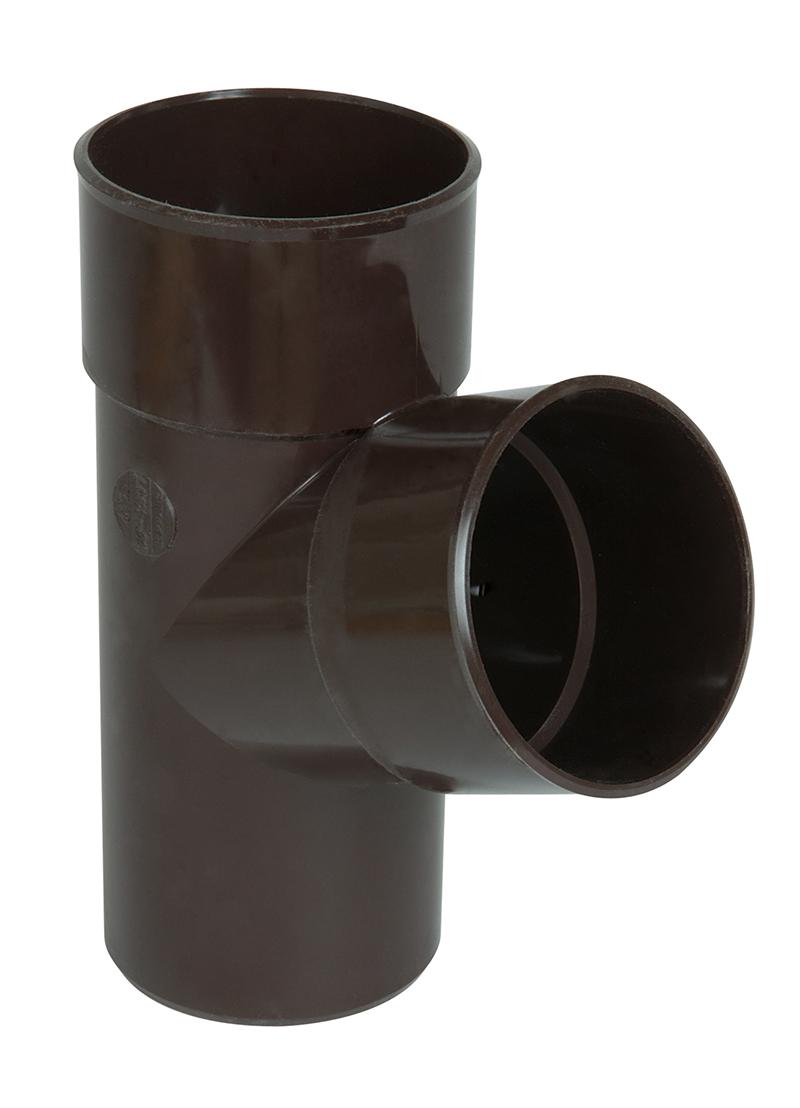 brun accessoire 80mm pluvial goutti re. Black Bedroom Furniture Sets. Home Design Ideas