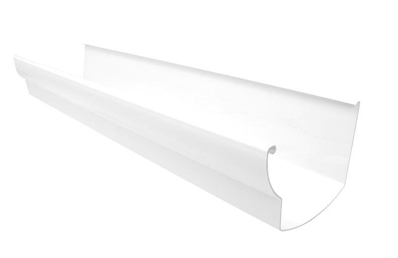 GOUT Ovation Blanc gouttiere 125mm