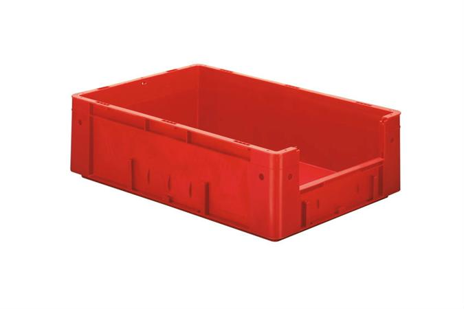 Eurobac 600x400x175mm ouv frontale rouge