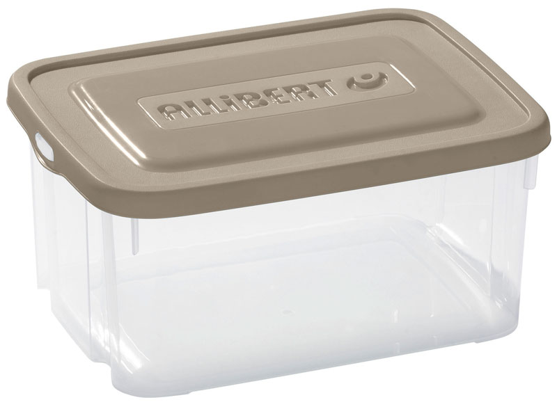 HANDY BOX 6L + couvercle - taupe