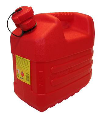 Jerrican 10L rouge special hydrocarbures