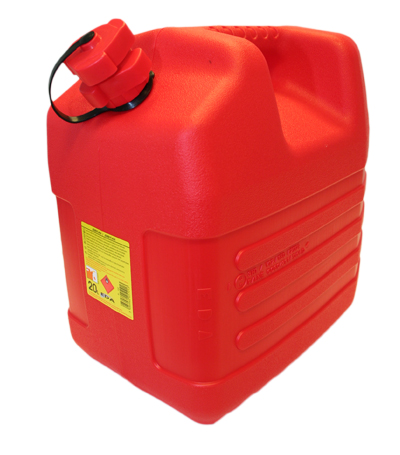Jerrican 20L rouge special hydrocarbures