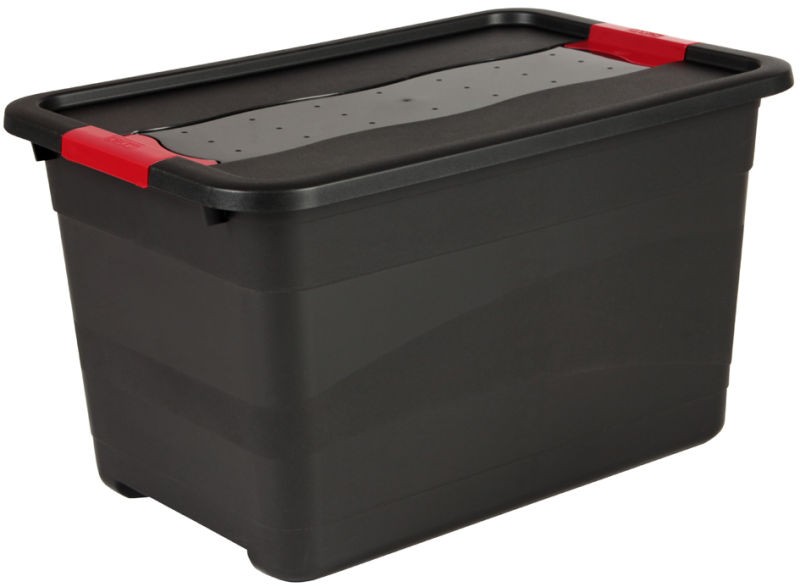 Solido box 52L - noir/rouge