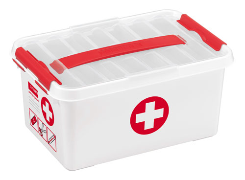 SUNWARE Q-line  6L First Aid box