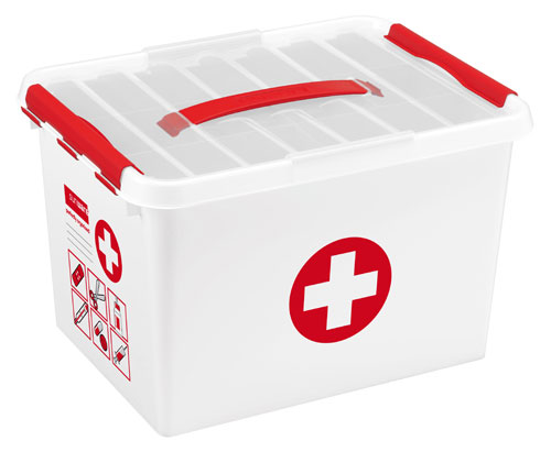 SUNWARE Q-line 22L First Aid box