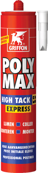 Colle Polymax High Tack 435g blanc
