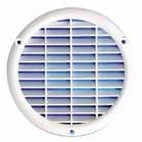 Grille menuiserie ronde 165mm