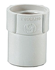 Rac.40mm flex.filet gauc x 40mm male