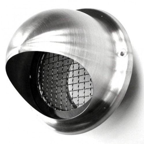 Grille boule ext inox treilli 150mm rubrique sanitaire evacuation - Grille evacuation seche linge ...