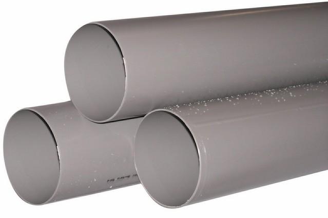 Pvc gris tuyau sanitaire evacuation for Tube pvc 100 diametre interieur