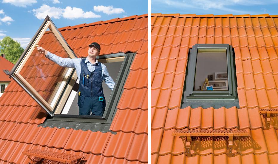 Fen tre de toit toiture bardage for Fakro fenetre de toit