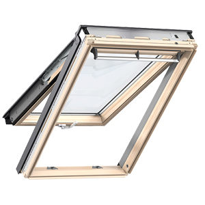 Velux projection gpu0060r pu 78x118cm rubrique toiture for Fenetre de toit pvc velux