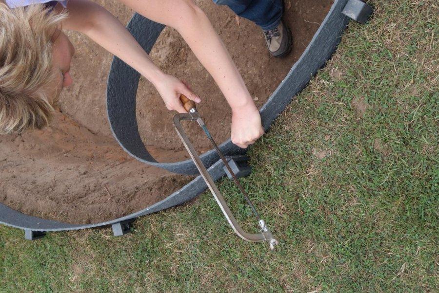 Bordure ecolat 140x7mm 25m brun rubrique divers for Bordure ecolat