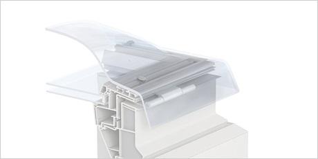 Coupole 100x150 dble vitr isol fixe 73q rubrique toiture - Fenetre coupole pour toit plat ...