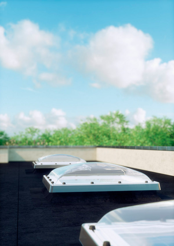 fakro fen toit pl coupole tr 90x120 rubrique toiture. Black Bedroom Furniture Sets. Home Design Ideas