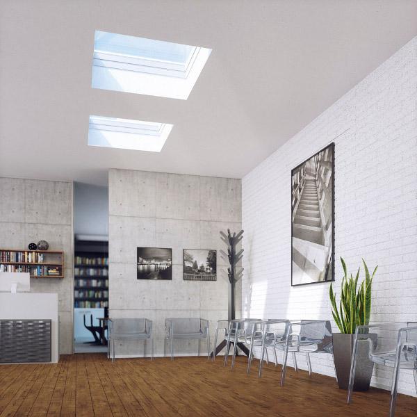 Fakro fen toit pl coupole tr 120x120 rubrique toiture for Fakro fenetre de toit