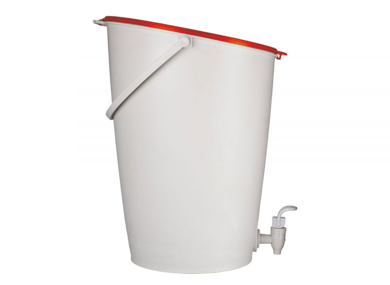 Kit Urban Composter 15 litres rouge